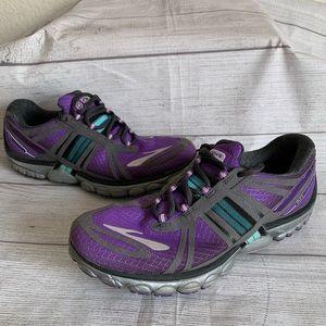 Brooks Pure Cadence Womens Size 9 Purple Sneakers